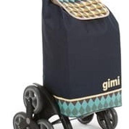 Tris Optical modrá nákupní taška