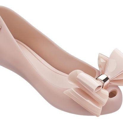 Melissa pudrové baleríny Ultragirl Sweet XII Milky Light Pink - 39