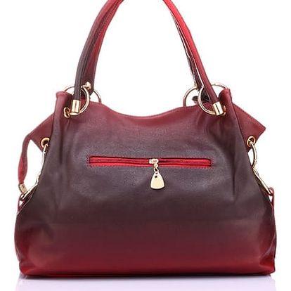 Elegantní dámská kabelka s precizním vzorováním - dodání do 2 dnů