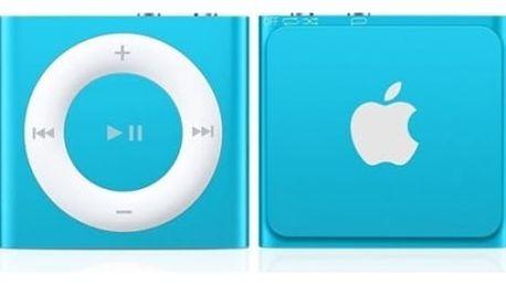 MP3 přehrávač Apple 2GB (MKME2HC/A) modrý