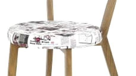 K215 - Jídelní židle (potisk, dub medový)