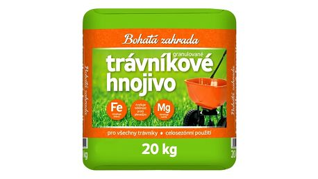Trávníkové hnojivo Bohatá zahrada, 20 kg + SLEVA 15 %