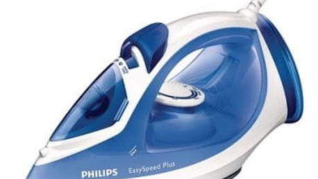 Žehlička Philips EasySpeed GC2046/20 modrá