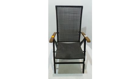 Zahradní židle Harbo Gleneagle, antracitová + SLEVA 15 %