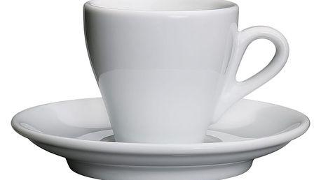 Cilio Espresso šálek s podšálkem Milano 50 ml