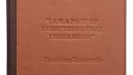 Pouzdro Pocket Book pro PB840 (PBPUC-840-BR) hnědé
