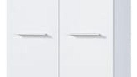 GW-Top - Skříň (bílá / dub sonoma)