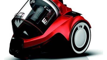 Vysavač podlahový Dirt Devil Rebel 25HFC červený Turbohubice Dirt Devil M219 MINI (zdarma)