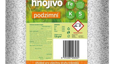 Podzimní trávníkové hnojivo Bohatá zahrada, 20 kg + SLEVA 15 %