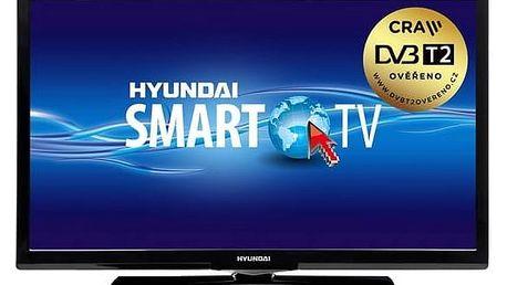 Televize Hyundai HLN 24TS382 SMART černá + Doprava zdarma