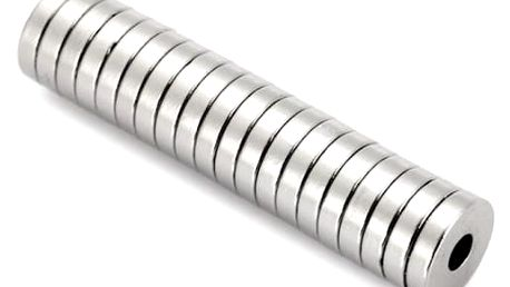 Neodymové magnety 12 x 3 mm - 20 ks