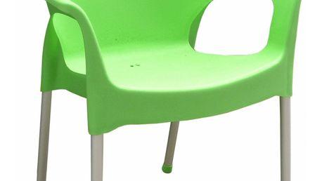 Zahradní židle Mega-Plast MP1282 Urban, zelená + SLEVA 15 %