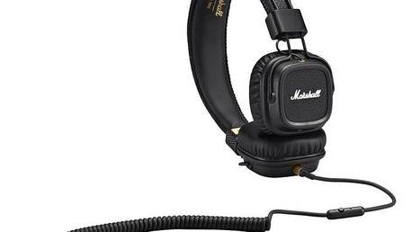 Sluchátka Marshall Major II Black + Doprava zdarma