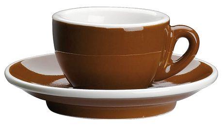 Cilio Espresso šálek s podšálkem Roma hnědý 50 ml