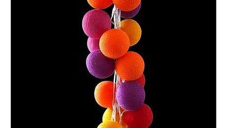 Světelný řetěz Cable and Cotton Turkish Delight, 35 ks + SLEVA 15 %