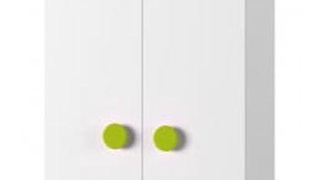 Simba 8(korpus bílá/front bílá a zelený medvídek)
