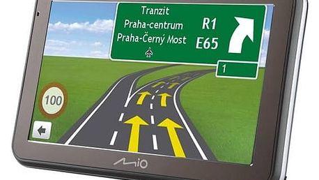 Navigační systém GPS Mio Spirit 7670 Full Europe Lifetime (5413N5020046) černá/šedá + Doprava zdarma
