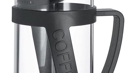 Konvice na kávu French Press Melina Cilio černá 0,8 l