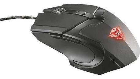 Myš Trust GXT Gaming 782 + podložka (21142) černá