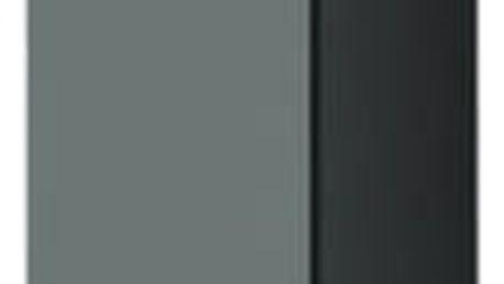Vigo - Vitrína závěsná 180, 1x dveře (šedá/šedá lesk)