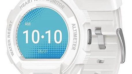 Chytré hodinky ALCATEL ONETOUCH GO WATCH SM03, White/Light Grey (SM03-2AALXE7)