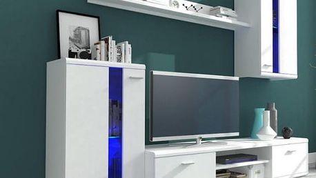 Life - Obývací stěna (bílá)