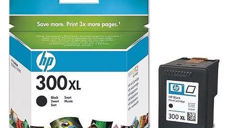 Inkoustová náplň HP No. 300XL, 12 ml, 600 stran - originální (CC641EE) černá