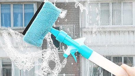 Multifunkční stěrka na čištění oken - více barev
