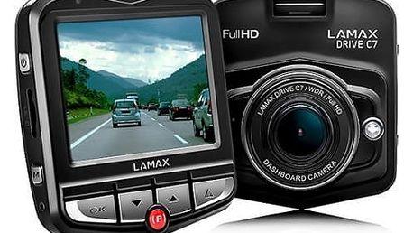 Autokamera Lamax Drive C7 černá