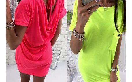 Neonové dámské šaty Suzie