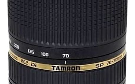 Objektiv Tamron SP AF 70-300mm F4-5.6 Di VC USD pro Canon (A005E) černý