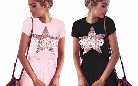 Dámské šaty s hvězdou Star