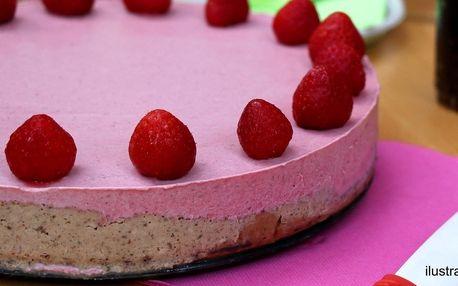 Luxusní raw dort pro milovníky zdravé stravy