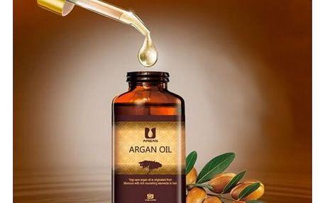 Arganový olej pro péči o vlasy i pleť 100 ml