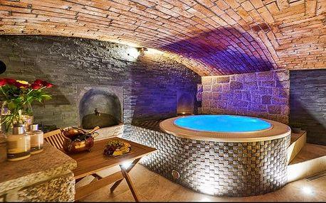 3–6denní wellness pobyt pro 2 s lahví sektu v luxusním hotelu Stará Pekárna**** v Liberci