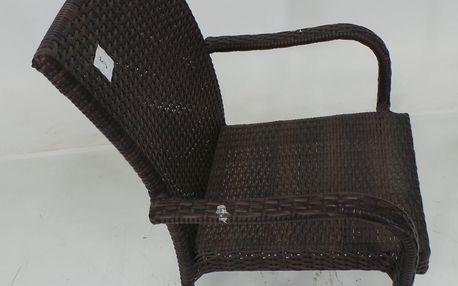 Zahradní židle Kansas umělý ratan + SLEVA 15 %
