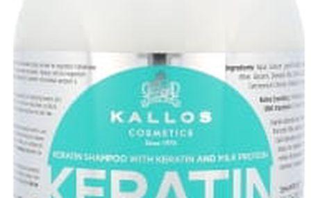 Kallos Cosmetics Keratin 1000 ml šampon pro ženy