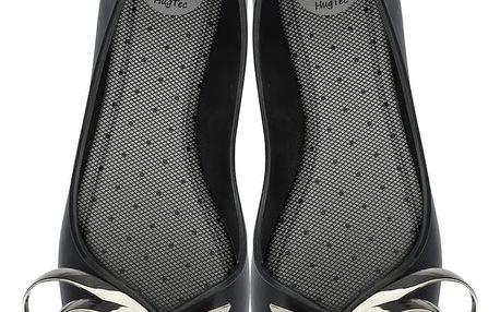 Zaxy černé dámské baleríny Luxury Fem Black - 41/42