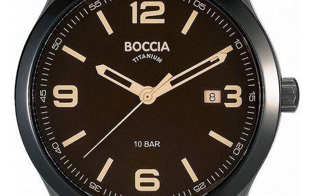 Boccia Titanium 3583-02 + pojištění hodinek, doprava ZDARMA, záruka 3 roky