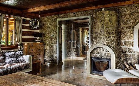 4denní wellness pobyt pro 6 osob v luxusní Chatě – Josefův Důl v Jizerských horách
