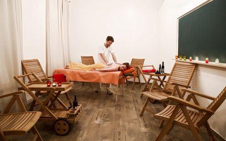 Jemná peeling či čokoládová masáž se zábalem, Praha 5