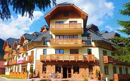 3 až 5denní pobyt až pro 4 osoby v apartmánovém domě Kamzík na Slovensku