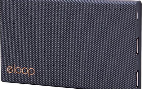 EPICO Power Bank ELOOP by EPICO E12, černá - 9915101300017
