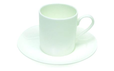 Maxwell & Williams Espresso šálek s podšálkem Cashmere bílý 110 ml