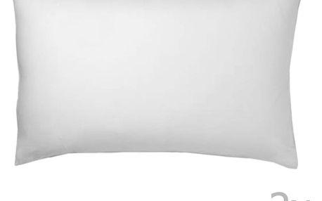 Sada 2 bílých povlaků na polštář Atelie Lisos, 50x70cm