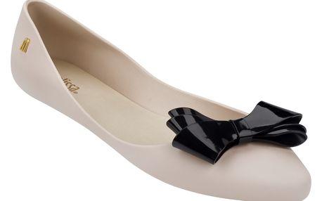 Melissa béžové boty Trippy IV Beige/Black - 39