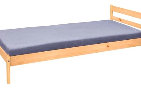 Finn - Rám postele 200x90, rošt (borovice)