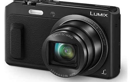 Digitální fotoaparát Panasonic DMC-TZ57EP-K černý