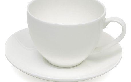 Maxwell & Williams Espresso šálek s podšálkem Cashmere bílý 100 ml