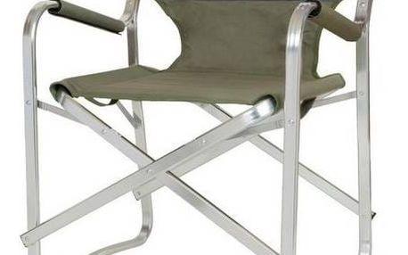 Židle Coleman DECK CHAIR - hliníkový rám černá/zelená + Taška přes rameno Coleman ZOOM (1L, manšestr), 160 g v hodnotě 293 Kč + Doprava zdarma